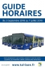 GUIDE HORAIRES 2018/2019